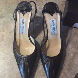 Jimmy Choo black heels